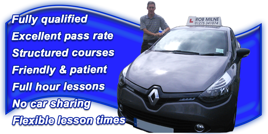 Driving lessons with Rob Milne School Of Motoring